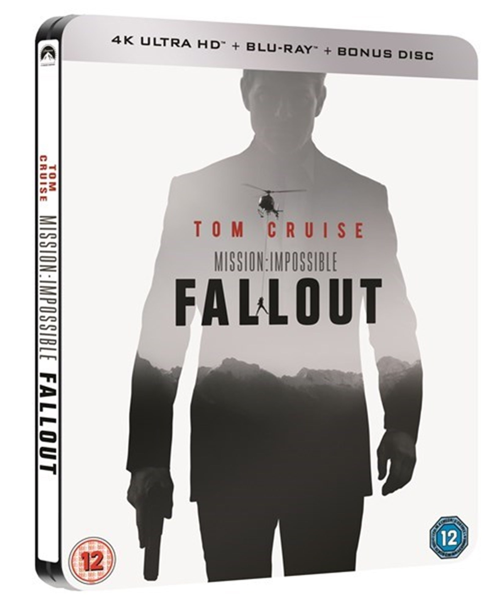 Mission: Impossible - Fallout (hmv Exclusive) 4K Ultra HD Steelbook