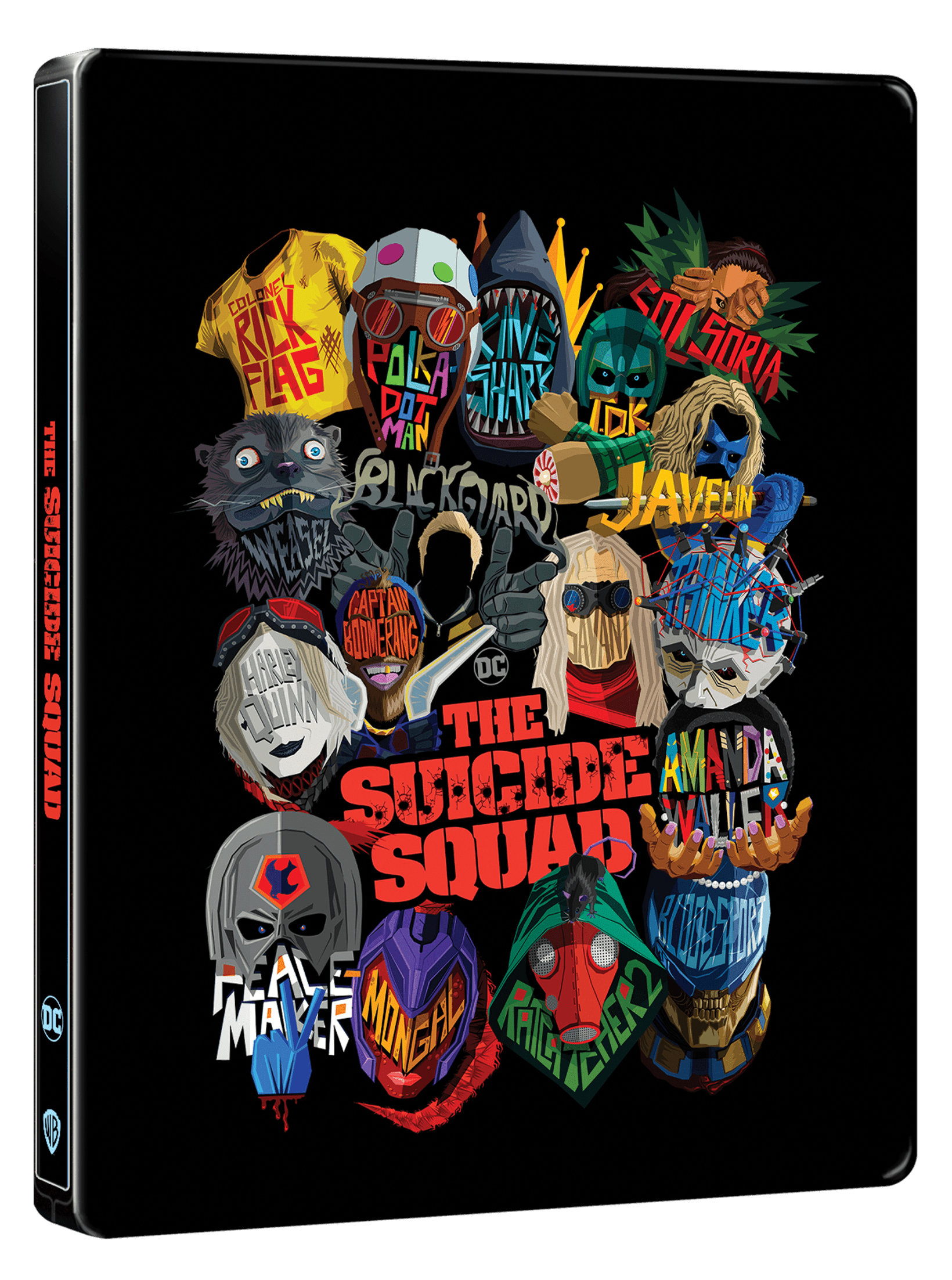 The Suicide Squad (hmv Exclusive) Limited Edition 4K Ultra HD Steelbook